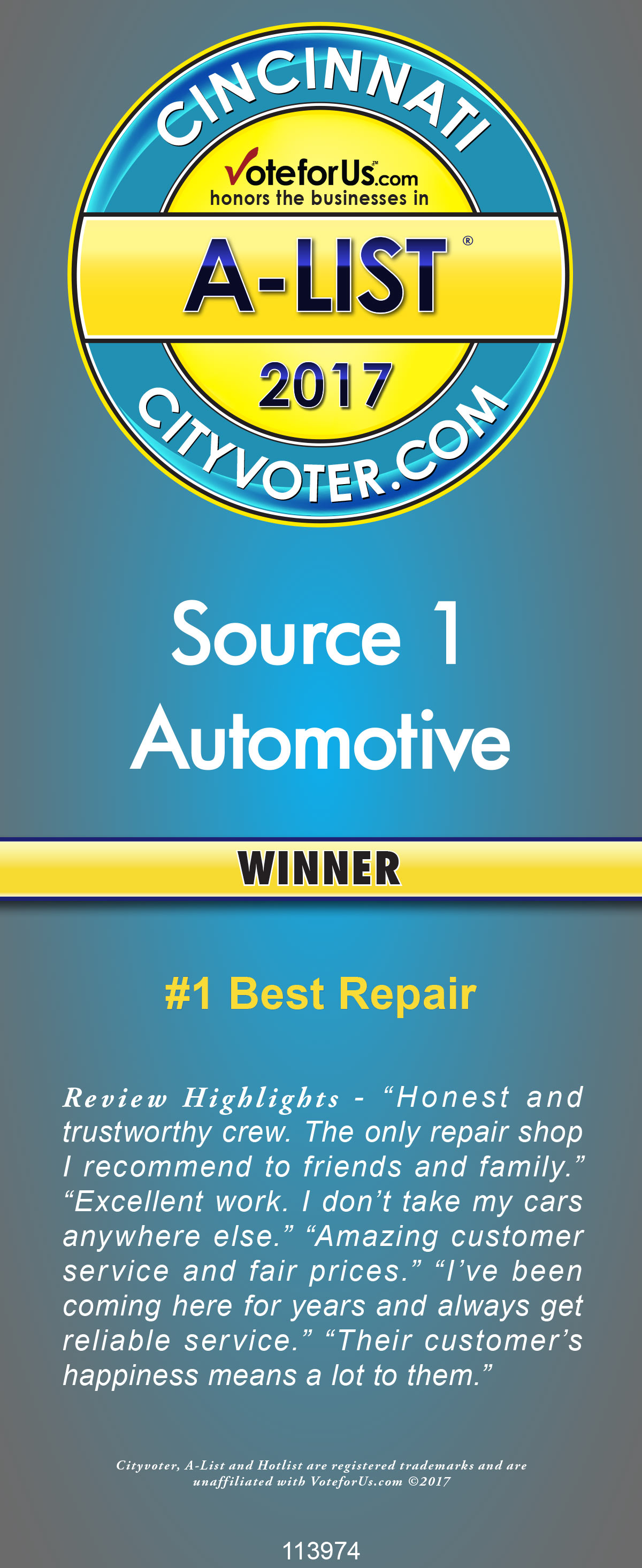 Number One Best Repair
